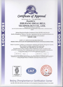 ISO9001:2008 Ideal Bell