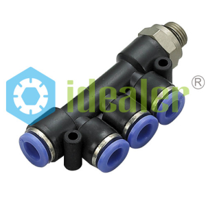 PUSH TO CONNECT FITTINGS-PKB-G