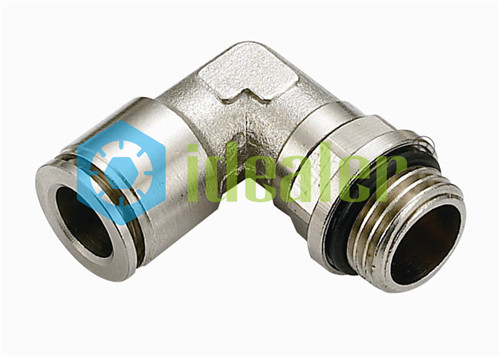 All Metal Push to Connect Fittings-MPL