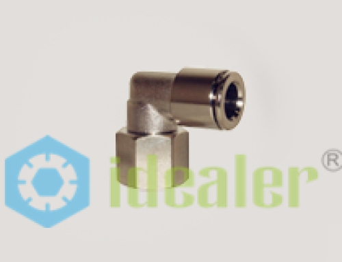 All Metal Push to Connect Fittings-MPLF