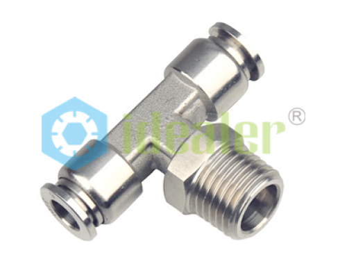 Stainless steel push in fittings sspul ideal bell pneumatics