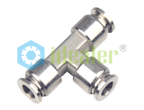 Stainless steel push in fittings sspt ideal bell pneumatics