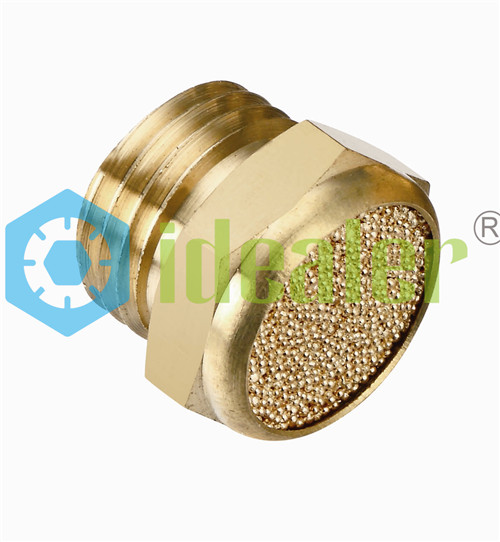 pneumatic muffler