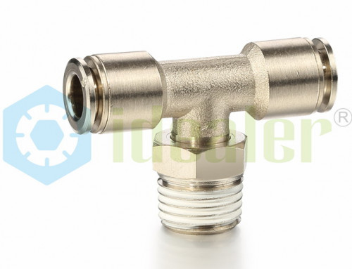 All Metal Push to Connect Fittings- MPT