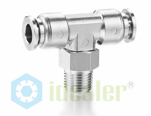 Stainless steel push to connect fittings-SSPT